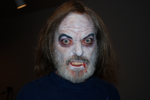 Greg Vampire Makeup After