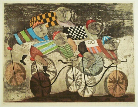 Family exhibition What Moves Us: Art of Transportation, summer 2010 at ASU Art Museum